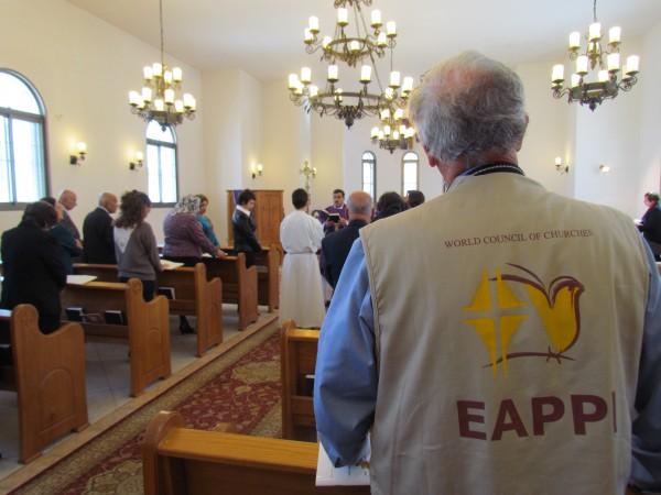 Kyrkobesök i Nablus