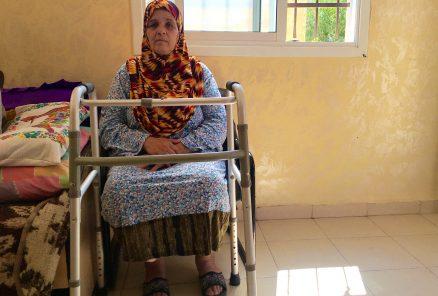 Sabha Abdulrahman Mustafa i sitt hem