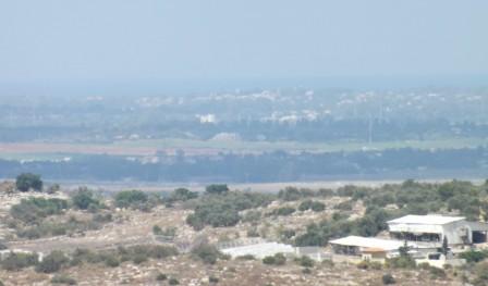 Utsikt över al-Ras.