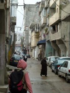 130206 Shufat Refugee Camp EA presence George Meek