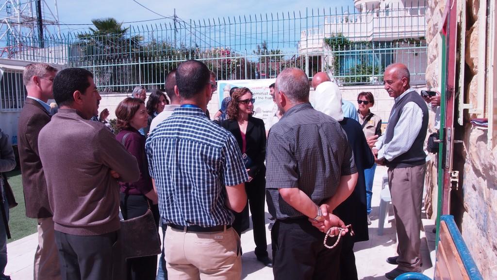 Kerrys rådgivare och följeslagarprogrammet på besök