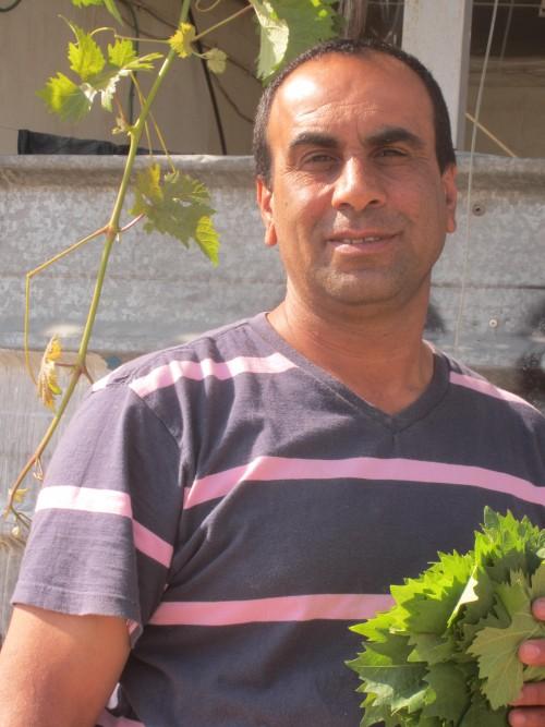 Porträttbild av bybon Ayed Barakat.