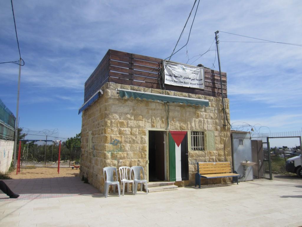 Låg- och mellanstadieskolan i an- Nabi Samwil.