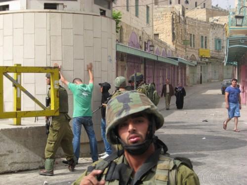 Soldater i Hebron