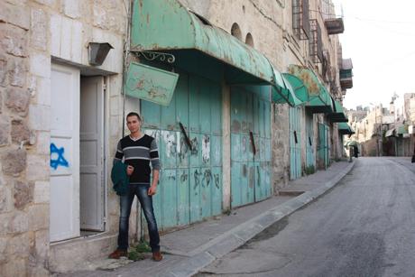Abed på Shuhada street