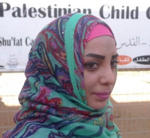 Ola Abu Taleb, danslärare på Palestinian Child Center i flyktinglägret Shuafat.