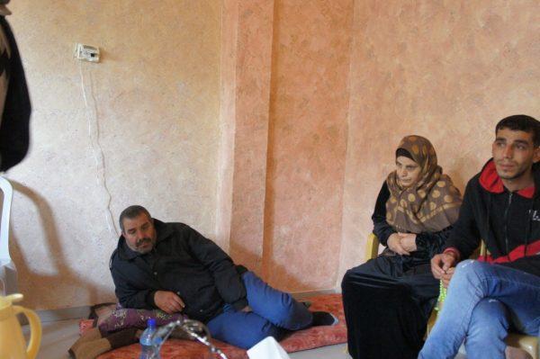 Murads föräldrar och bror.