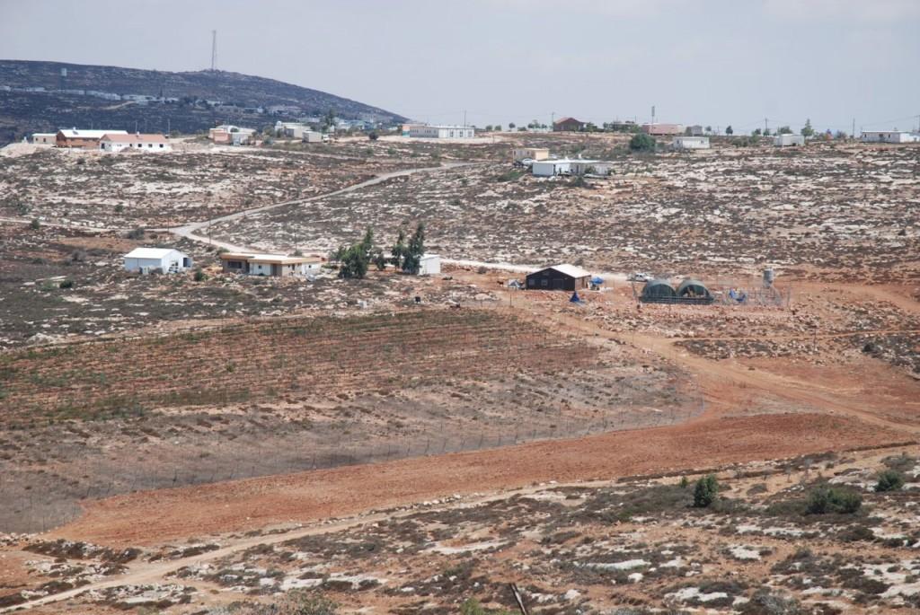 Mahmuds mark som nu en bosättare använder för eget jordbruk.