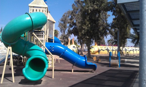 Lekplats i Sderot.