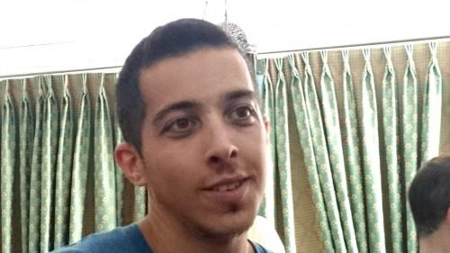 Shay Davidovich delar med sig av sina erfarenheter som soldat i Israels armé.
