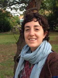 Den israeliska unga kvinnan Linar Shtilman från byn Yesod Hamala i Galiléen