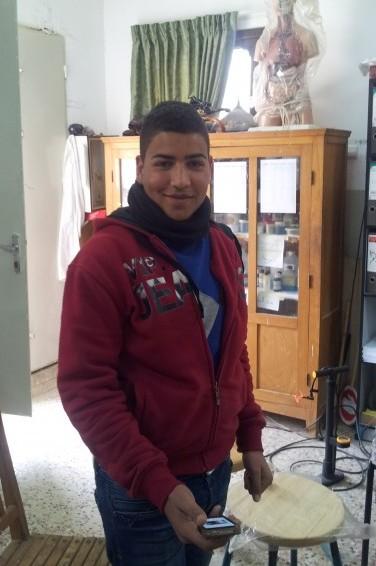 Femtonåriga Yazan Draghmu.