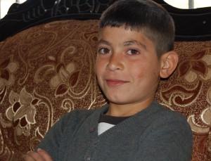 Yngste sonen Izzadin Mohammad Zowl.