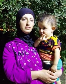 Hiam Umm Ahmad, gift med Nasser Nawajah.
