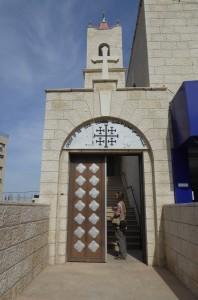 The Good Shepard. Anglikanska kyrkan i Nablus. Foto: Johanna Persdotter