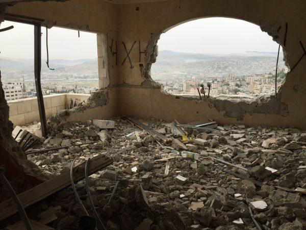 Demolerad lägenhet