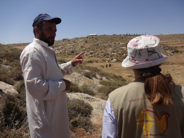 Yusef ber om hjälp. Foto: Maria Kileby