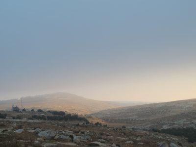 Utsikt över South Hebron Hills