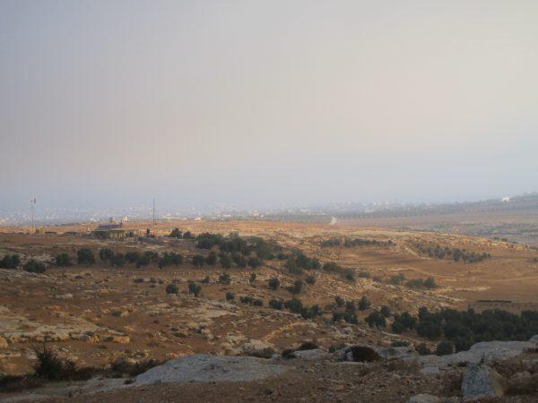 Hemmet i fråga som ny hyrs av en NGO som specialierar sig i att förse palestinier i Område C med hållbara energi-lösningar som solpaneler och vindturbiner. Foto: Viktor S