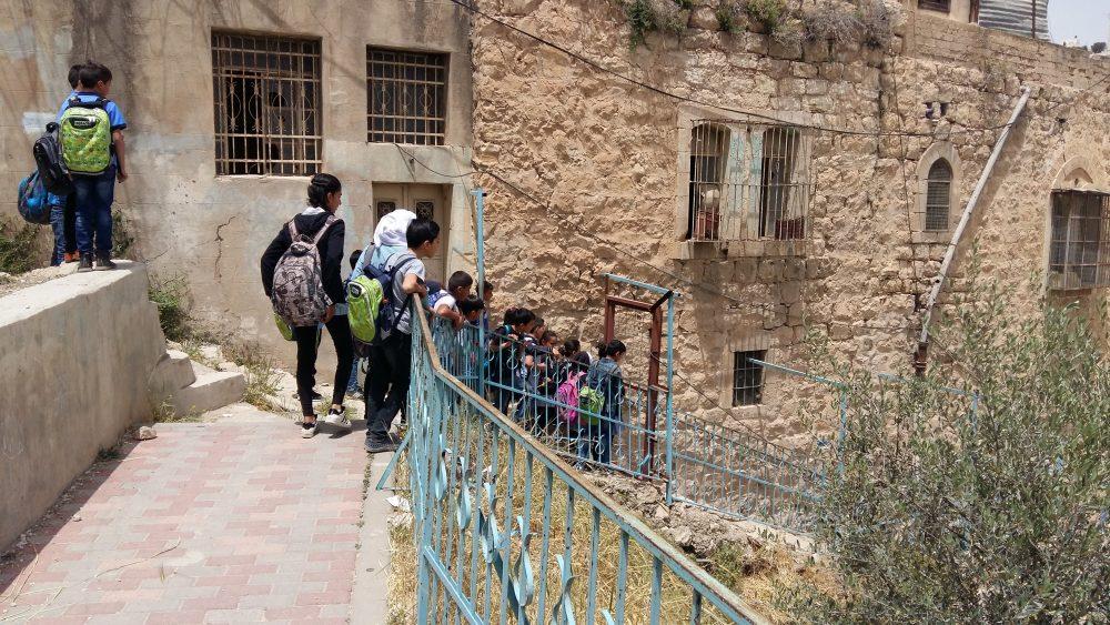 Barn vid Cordobaskolan